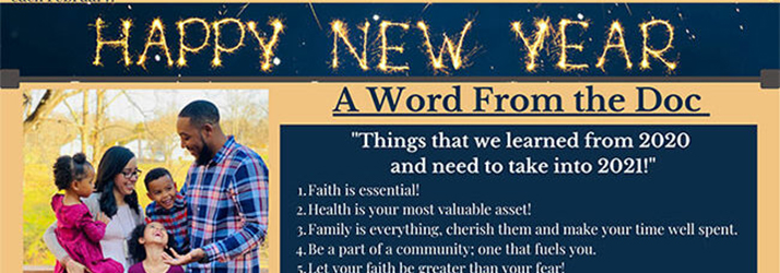 Chiropractor Cape Coral FL Omar Clark January 2021 Newsletter