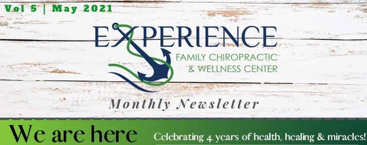 Chiropractor Cape Coral FL Omar Clark May 2021 Newsletter